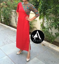 Salwar Pattern, Kurta Patterns, Dress Patterns, Salwar Designs, Blouse Designs, Western Dresses, Indian Dresses, Ethnic Fashion, Indian Fashion