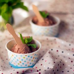 Helado de chocolate Thermomix