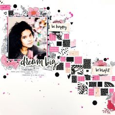 73 vind-ik-leuks, 17 reacties - Erica Thompson (@ericarosecreates) op Instagram: 'I have this layout up on the @cliquekits blog & YouTube today using the February kit and some of…'