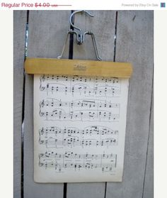 Vintage Wooden Hanger   Decorate with Christmasy items-bows, greenery, etc.