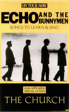 """lostboypocalypse: """" Echo and the Bunnymen Poster that hangs in Michaels room on his closet door. A rare 1985 US WEA label promotional only concert poster featuring the artwork for the 'Songs To Learn. Singing Lessons, Singing Tips, Echo And The Bunnymen, 80s Music, Rock Music, Band Posters, Music Posters, Music Artwork, Piece Of Music"""
