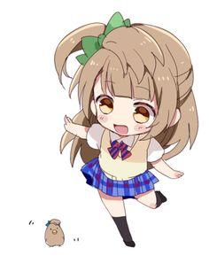 Minami Kotori chibi kawaii
