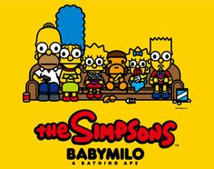 f2e238a7af0 The Simpsons x A Bathing Ape – Baby Milo Collection Bape Wallpapers