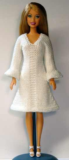 Free Knit Barbie Doll Clothes Patterns Knitting Pattern Baby