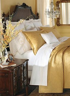 Elegant style and superb quality combine to create a relaxing bedroom environment.