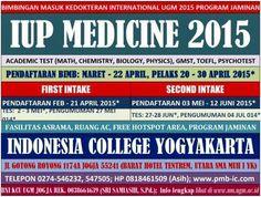 bimbingan kedokteran internasional iup ugm program jaminan start 17 maret, 01 april, 20 april 2015