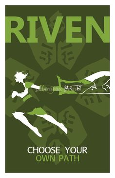 Riven League of Legends Print by pharafax on Etsy, $14.00