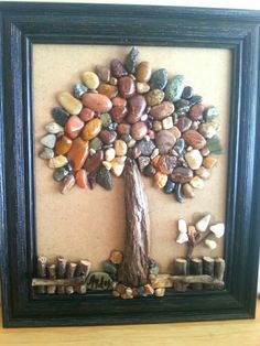 Best 11 Imagine a tall one as a patio feature. Approximately x H – SkillOfKing. Stone Crafts, Rock Crafts, Pista Shell Crafts, Beach Rock Art, Art Shed, Pebble Pictures, Sea Glass Crafts, Rock And Pebbles, Rock Collection