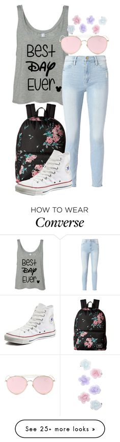 """""""Rapunzel Vibes"""" by forever-inspired on Polyvore featuring Vans, Frame, Converse, LMNT and Monsoon"""