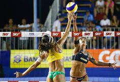 Blog Esportivo do Suíço:  Duplas olímpicas do Brasil vão à final e pegam gringos na decisão em Vitória