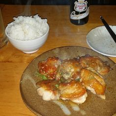 First dinner in Japan