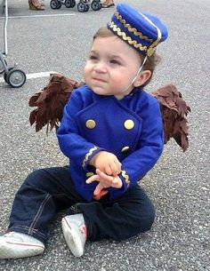 Flying Monkey Costume, Finley from The Great and Powerful Oz, Toddler / children Halloween costume