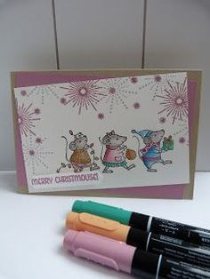 Merry Mice Stampin' Up! - Merry Christmouse! | StampinClubNederland | Bloglovin'