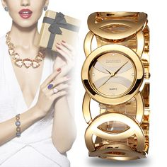 Cheap watches pocket watches, Buy Quality watch temperature directly from China watch charm Suppliers: WEIQIN Brand Luxury Crystal Gold Watches Women Fashion Bracelet Quartz Watch Shock Waterproof Relogio Feminino orologio donna Diamond Scale, Women's Dress Watches, Wrist Watches, Girl Watches, Gold Watches Women, Crystal Fashion, Stylish Watches, Luxury Watches, Fashion Bracelets