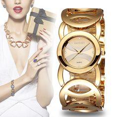 Encontrar Más Relojes de moda Información acerca de Weiqin marca de lujo de relojes cristalinos del oro mujeres moda pulsera de cuarzo reloj de choque Watreproof Relogio Feminino orologio donna, alta calidad relojes de los relojes de bolsillo, China reloj de temperatura Proveedores, barato encanto reloj de JIANGYUYAN en Aliexpress.com