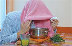 Bronchitis Steam Therapy