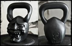 Demon bells. Kettlebells. Yeah, I think I want one of these.