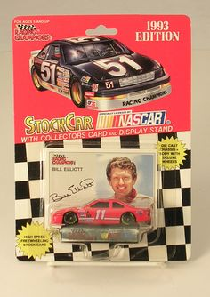 Racing Champions Inc. Stock Car No. 11 Bill Elliott Dated 1993 Edition by JohnGermaine on Etsy