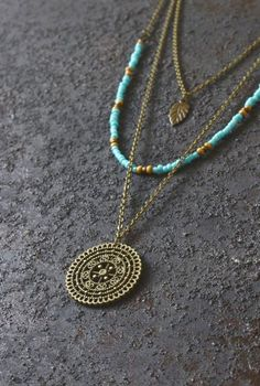 dacecec1e40 Ananke Jewelry Boho necklace layered necklace hippie necklace mandala  necklace boho jewelry handmade jewelry bohemian jewelry