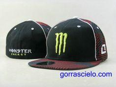 Comprar Baratas Gorras Monster Energy Fitted 0091 Online Tienda En Spain.