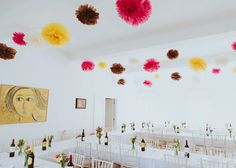 Colourful pompoms | Photography by http://shuttergoclick.photoshelter.com/