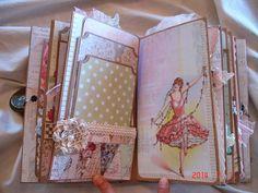 Scrapbooking by Phyllis: Premade Scrapbook Mini Album *Memories*