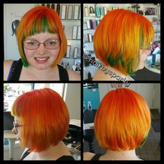 Orange/yellow/green transformation