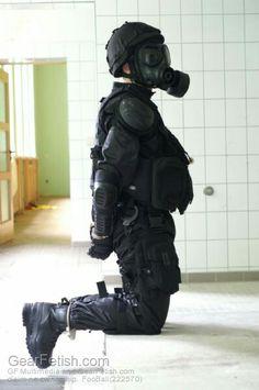SWAT shackled