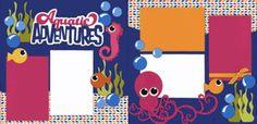 Aquatic Adventures - Girl Page Kit
