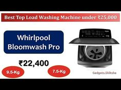 7.5-Kg Top Load Washing Machine with Heater   #Whirlpool Stainwash Pro  ... Latest Gadgets, Washing Machine, Top, Crop Shirt, Shirts