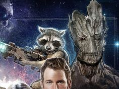 Rocket and Groot by Paul Shipper