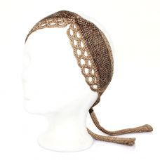 Daisy headband in gold