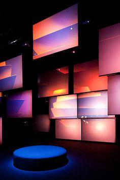 Interaktives Design, Event Design, Interior Design, Interactive Installation, Installation Art, Interaktives Museum, Church Stage Design, Neon Aesthetic, Graphic Design Illustration