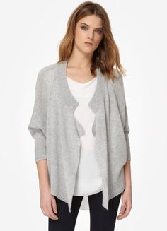 how I love this soft drapey sweater from rebecca taylor... via bliss