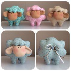Lamb, sheep, tilda style, room decoration, pincushion, textile animals
