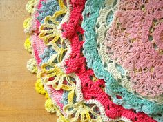 umla:  Doily Delicious by Trisha Brink Design on Flickr.