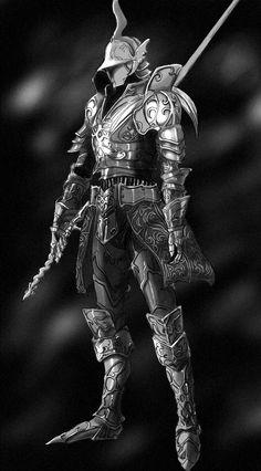 knight Dark Souls Armor, Armor Concept, Game Concept Art, Knight Art, Ritter, Dark Fantasy, Medieval Fantasy, Fantasy Warrior, Character Art