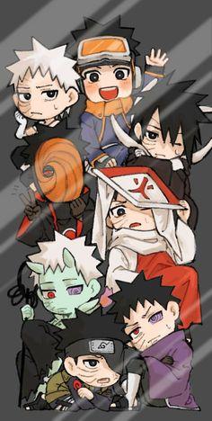 Naruto Fan Art, Naruto Vs Sasuke, Naruto Uzumaki Shippuden, Anime Naruto, Chibi Anime, Naruto Shippuden Characters, Anime Akatsuki, Naruto Cute, Anime Kawaii
