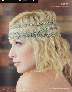 Crystal Hippie Headband - Willow