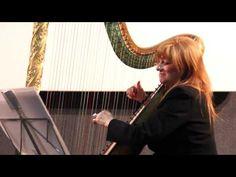 Patricia Slapak Rodriguez Peña- Tango. Arpa, Flauta y Contrabajo - YouTube