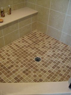 Glass Block Shower Accessories – Seats, Niches, Urethane Grout & Grab Bars - Innovate Building Solutions