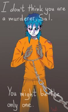 he kind of is though Sally Man, Gang Road, Creepy Games, Sally Face Game, Larry Johnson, Epic Art, Awesome Art, Creepypasta, Face Art