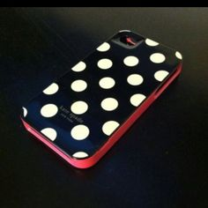 Kate Spade phone case. Mines a comin ;)