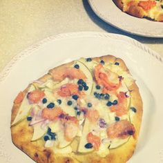 A. Liz Adventures: Smoked Salmon Pizza