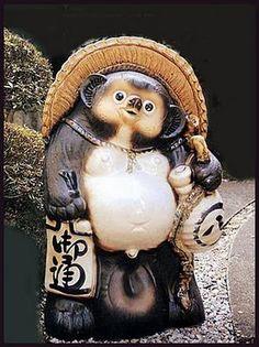 tanuki | tricks tanuki and daruma and the tanuki scrotum kintama 金玉