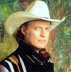 Ricky Van Shelton I love his voice.  Favorite song is Keep it between the lines