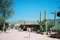 Old Tuscon, Arizona… went here when I was a child.