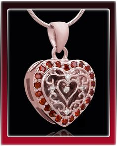 Rose Gold Queeny Cremation Jewelry $119.99
