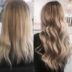 ⭐️⭐️ Makeover inspo via @rapunzeluppsala. Copy this look with Quick & Easy extensions in Cendre Ash Blond Mix #P14/60 #rapunzelofsweden
