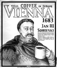 Coffe in Europe powered by Polish king Jan III Sobieski